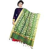 ziya Women's Indian Ethnic Dupatta Heavy Phulkari Embroidery Dupatta
