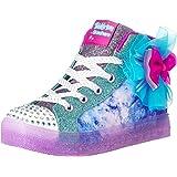 Skechers Kids Girls' Shuffle Bow Brights Sneaker