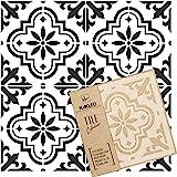 VALETTA Tile Reusable Plastic Stencil // Floor Wall (20x20cm)