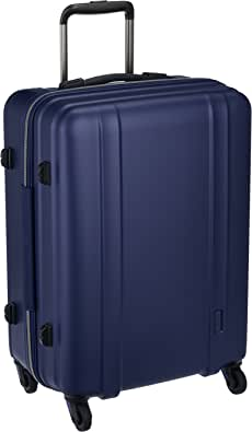 [シフレ] ジッパーハードスーツケース 超軽量 ゼログラ ZEROGRA ZER2088 56cm 保証付 60L 56 cm 2.9kg マットネイビー