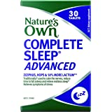 Nature's Own Complete Sleep Advanced - Traditionally Used to Improve Sleep Quality and Relieve Sleeplessness, 30 Tablets