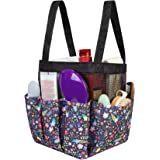 Portable Mesh Shower Caddy Tote, Quick Dry Shower Caddy with 2 Oxford Handles, Big Shower Tote Bag for College Dorm Room Esse