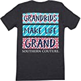 Southern Couture SC Classic Grandkids Make Life Grand Womens Classic Fit T-Shirt - Dark Heather