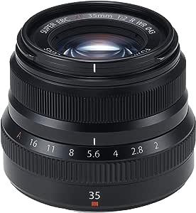 FUJIFILM 交換レンズ35mmF2ブラック XF35MMF2 R WR B A Amazonベーシッククーポン付