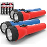 Eveready LED Flashlight Multi-Pack, Bright Flash Light, Durable and Easy-to-Use, Perfect Flashlights for Camping Accessories,