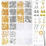 Earring Making Kit, Anezus 2320Pcs Earring Making Supplies Kit with Earring Hooks Findings, Earring Backs Posts, Jump Rings f