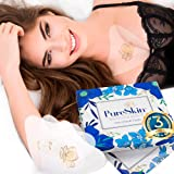 PureSkin - 3 PACK - Silicone Decollete Anti Wrinkle Chest Pads - Longer Lasting, Overnight Result | 100% Medical Grade Silico