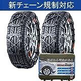 カーメイト (2020年出荷モデル) 日本製 非金属 タイヤチェーン バイアスロン クイックイージー QE6 適合:20…