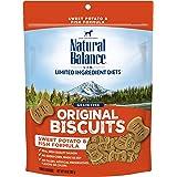 Natural Balance L.I.D. Limited Ingredient Diets Dog Treats, Sweet Potato & Fish Formula, 14 Ounce Bag, Grain Free