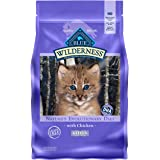 Blue Buffalo Wilderness High Protein Grain Free, Natural Kitten Dry Cat Food, Chicken 5-lb