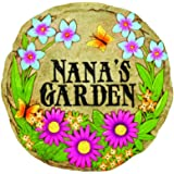 Spoontiques 13366 Nana's Garden Stepping Stone, 1 EA, Multi