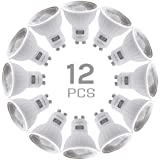 SINCELIGHT GU10 LED Light Bulb 100° Reflector, 6W, RA≈92, Cool White 6000K, Non-Dimmable, 550 Lumens Equivalent to 50W Haloge