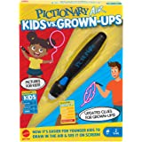 Mattel Games Pictionary Air Kids vs Grown-Ups Family Drawing Game, Links to Smart Devices, Gift for Kid, Family & Adult Game