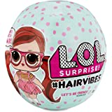 LOL Surprise Collectable Dolls for Girls - with 15 Surprises and Mix and Match Hair Pieces - #Hairvibes Dolls