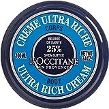 Loccitane Shea Butter Ultra Rich Body Cream by LOccitane for Unisex - 3.4 oz Body Cream, 102 milliliters