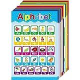 15 Educational Posters for Toddlers and Kids Preschool & Kindergarten Nursery Homeschool Classroom Decorations, Alphabet ABC