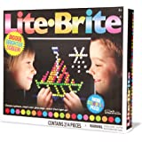 Basic Fun - Lite Brite Ultimate Classic - New & Improved Version. Bigger, Brighter Screen! More Colorful Pegs!