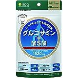 ISDG 医食同源ドットコム グルコサミン+MSM サプリメント [ MSM 1520mg・グルコサミン 160mg 配合/1日分 ] 240粒 30日分