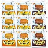 【セット商品】尾西のひだまりパン3種セット 長期保存 (プレーン、メープル、チョコ 各3個 計9個入)