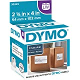 DYMO LW Standard Shipping Labels for LabelWriter Label Printers, White, 2-1/8'' x 4'', 1 roll of 220 (30323)