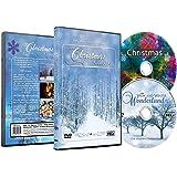 Christmas DVD - Christmas Collection Videos of Falling Snow Christmas Lights & Fireplaces