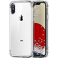 ONES iPhone Xs/X ケース 耐衝撃 超軍用規格 『エアバッグ、半密閉音室、Qi充電』〔滑り止め、すり傷防止…