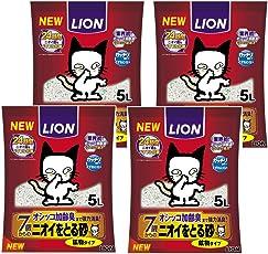 ニオイをとる砂 7歳以上用 鉱物タイプ 5L×4袋 (ケース販売)