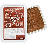 ISUPREME 低糖質プレミアムアイス チョコがごろごろチョップドチョコ味(1000ml)  ココロとカラダにうれしい、糖質オフ70%&プロテイン