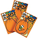 Make A Pumpkin Stickers (1 DOZEN) - BULK