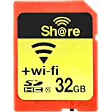 32GB ezShare Wi-Fi機能搭載SDHCカード Class10 Android/iOS両対応 海外リテール Wi-FiSD-32G [並行輸入品]
