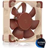 Noctua NF-A4x10 5V PWM, Premium Quiet Fan with USB Power Adaptor Cable, 4-Pin, 5V Version (40x10mm, Brown)