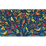 "Toland Home Garden 800435 Colorful Birds Doormat, 18"" x 30"", Multicolor"