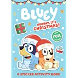 Bluey: Hooray, It's Christmas!: A Sticker Activity Book