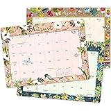 """Katie Daisy 2021 - 2022 Desk Pad Calendar (17-Month Aug 2021 - Dec 2022, 18.75"""" x 13.5"""")"""