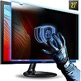 """27 Inch 16:9 Aspect Ratio Computer Privacy Screen Filter for Widescreen Computer Monitor 23.6""""x13.3"""" Anti-Glare - Anti-Scratc"""