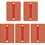 Gikfun Mini Solder-able Breadboard Gold Plated Finish Proto Board PCB for Arduino Electronic DIY (Pack of 5PCS) GK1009A