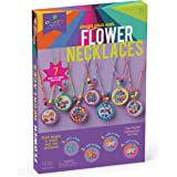 Craft-tastic CT1949 Design Your Own Flower Necklaces Craft Kit Makes 7 Inspirational, Stackable, & Interchangeable Necklaces