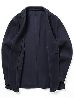 Raschel Knit 3-button Jacket 51-16-0232-901: Navy