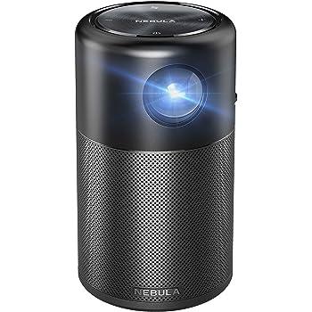 Anker Nebula Capsule (Android搭載モバイルプロジェクター)【100 ANSIルーメン/DLP搭載 / 360度スピーカー】