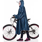 【2021年最新版】QIAN レインコート 自転車 メンズ レディース 雨具 レインポンチョ ポンチョ 通学通勤 軽量 完全防水 防汚 防風 男女兼用