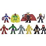 Playskool Heroes Marvel Super Hero Adventures Ultimate Super Hero Set, 10 Collectible 2.5-Inch Action Figures, Toys for Kids