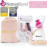 シリコン搾乳器 ハンズフリー搾乳機 ママアシスト 搾乳 ポンプ BPAフリー   NatureBond ネイチャーボンド