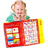 Boxiki kids ABC Sound Book for Children / English Letters & Words Learning Book, Fun Educational Toy. Learning Activities for