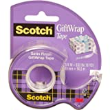 Scotch Satin Tape: 0.75 x 650 Inches, 1 Roll, Multicolor (G-19165)