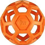 JW Pet Company 犬用おもちゃ ホーリーローラーボール オレンジ ミニ