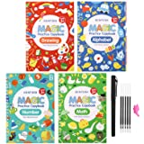 Magic Practice Copybook for Kids - iZiv Calligraphy Set Reusable Tracing Kids Books for Preschoolers Kids Ages 3-6 Letter Wri