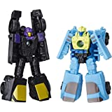 Transformers Toys Generations War for Cybertron: Siege Micromaster WFC-S32 Decepticon Sports Car Patrol 2-Pack - Adults and K