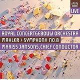 マーラー : 交響曲 第8番 変ホ長調 「千人の交響曲」 (Mahler : Symphony No. 8 / Mariss Jansons , Royal Concertgebouw Orchestra) [SACD Hybrid + DVD] [輸入盤]