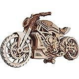 Wood Trick ウッドトリック モーターバイクDMS / 自走する3Dウッドパズル / 木製模型