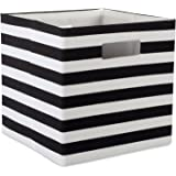 DII Foldable Fabric Storage Container for Nurseries, Offices, Closets, Home Décor, Cube Organizer & Everyday Use,  11 x 11 x